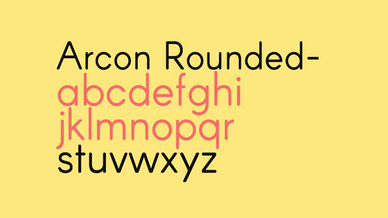 Arcon Font Free Download