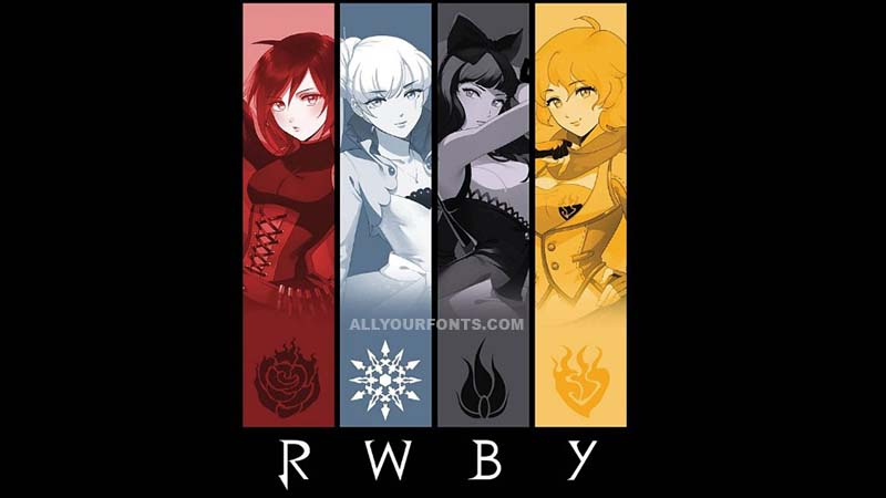 RWBY Font Family Free Download