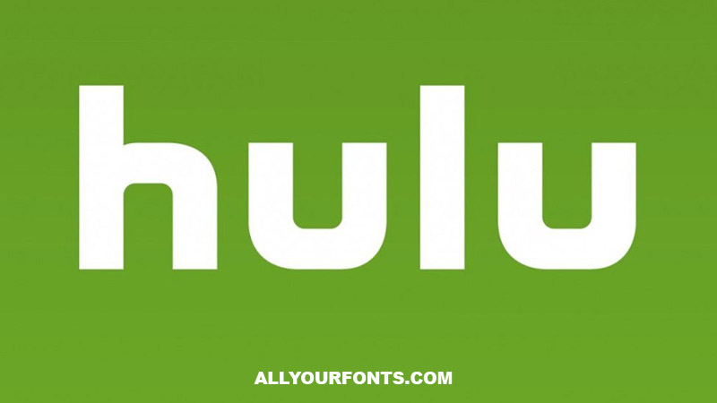 Hulu Font Family Free Download