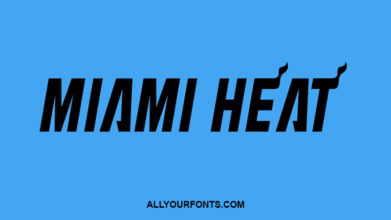 Miami Heat Font Free Download All Your Fonts