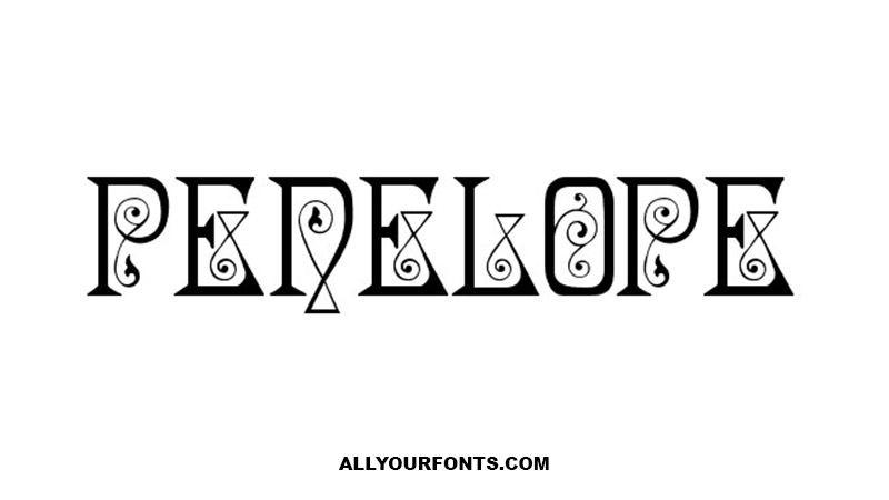 Penelope Font Family Free Download