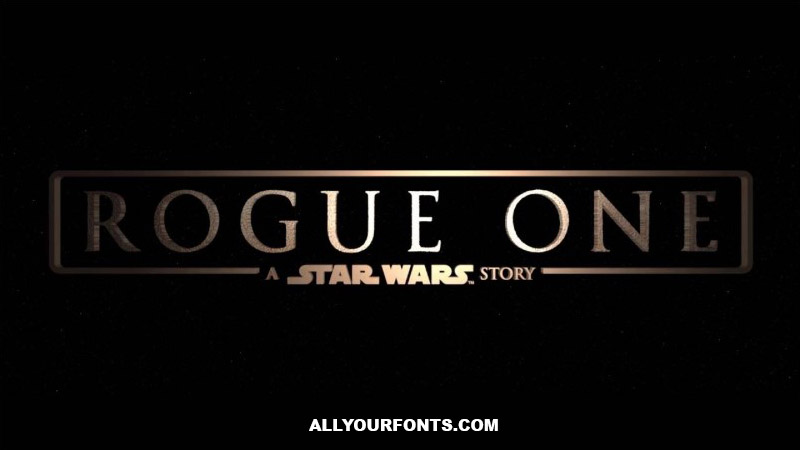 Rogue One Font Free Download