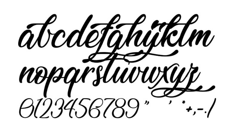 Lovely Home Font Family Download