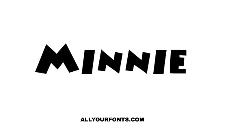 Minnie Font Family Free Download