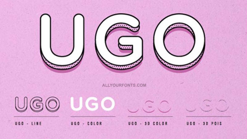 UGO Font Family Free Download