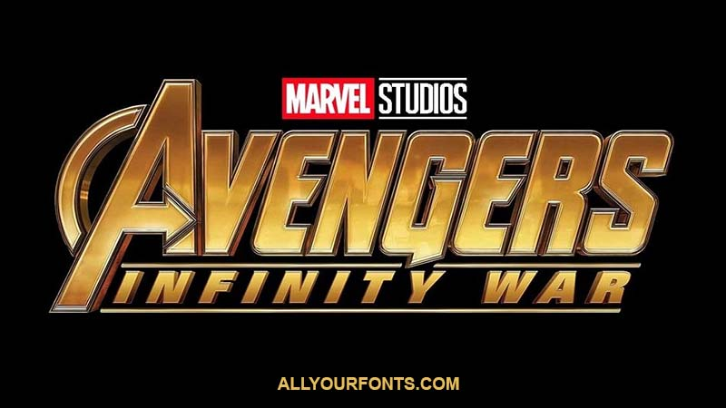 Avengers Infinity War Font Family Free Download