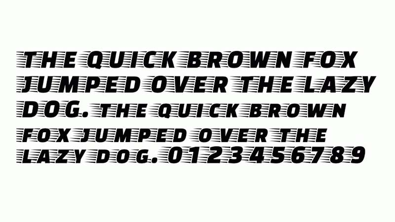 Faster One Font Free Download