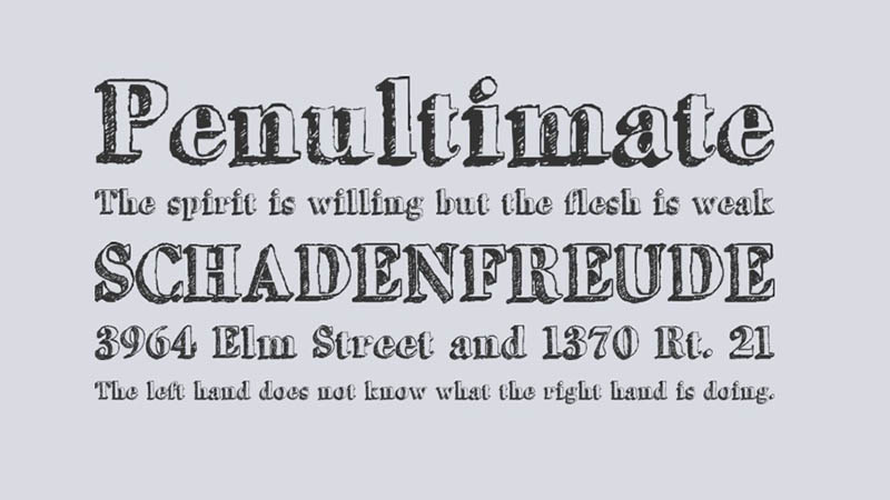 Grutch Shaded Font Family Download