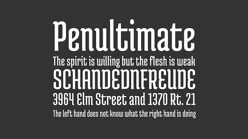 Medula One Font Family Download