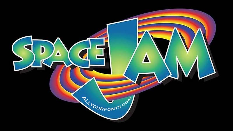 Space Jam Font Family Free Download