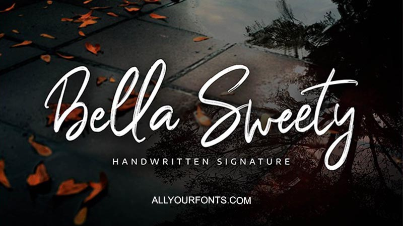 Bella Sweety Font Family Free Download