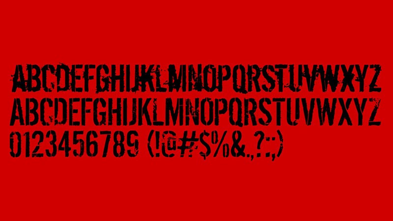 Dirty Ego Font Free Download