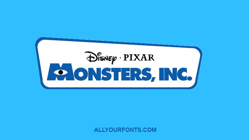 Monsters Inc Font Family Free Download