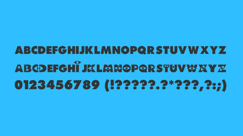 Monsters Inc Font Free Download