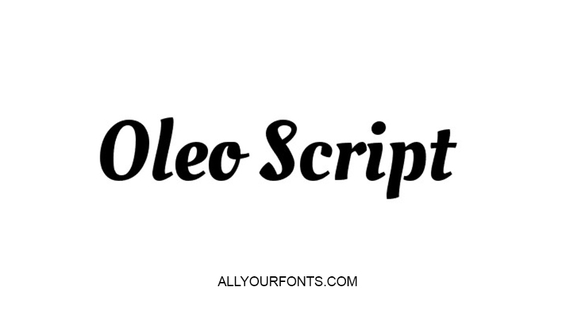 Old Script Font Family Free Download