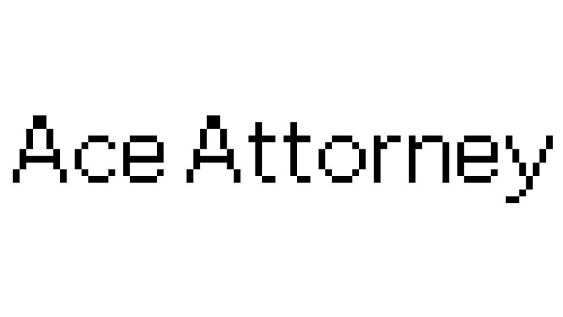 Ace Attorney Font Family Free Download