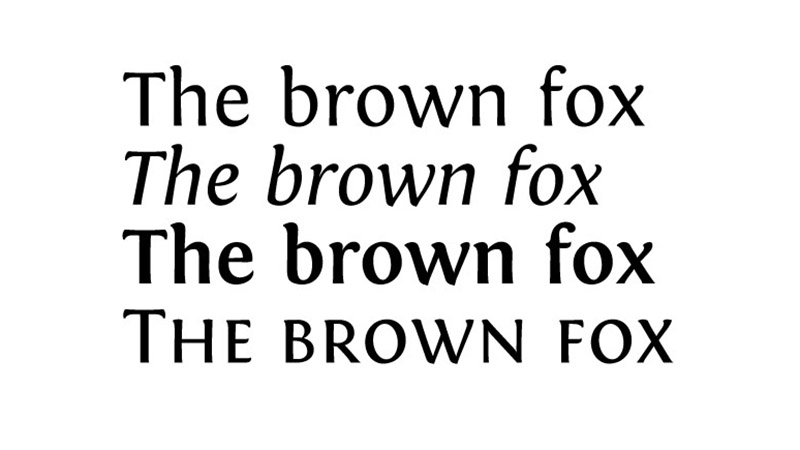 Fontin Font Free Download