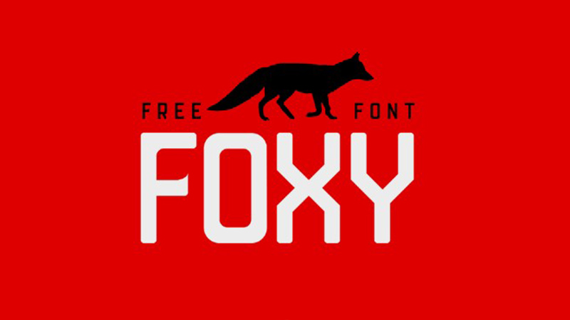 Foxy Font Family Free Download