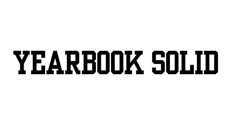 Yearbook Solid Font Family Free Download