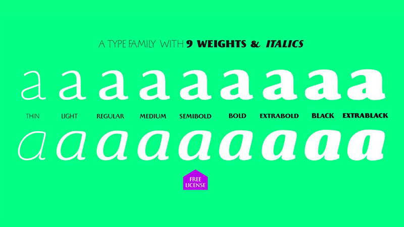 Beatrix Antiqua Font Family Download