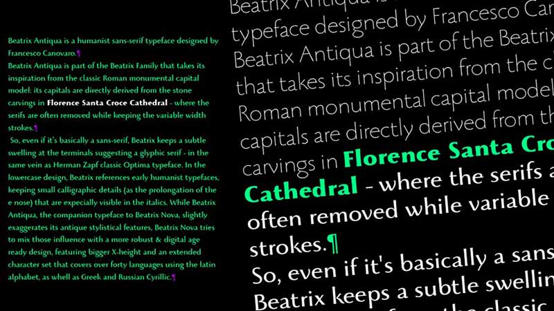 Beatrix Antiqua Font Free Download
