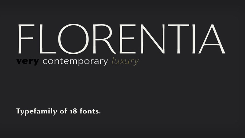Florentia Font Family Free Download