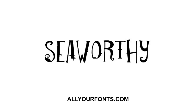 Seaworthy Font Family Free Download