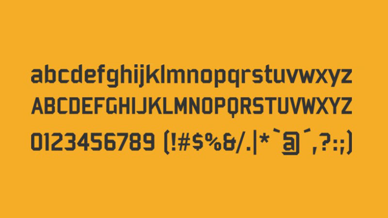 Bombardier Font Free Download