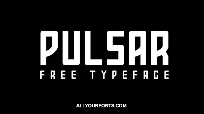 Pulsar Font Family Free Download