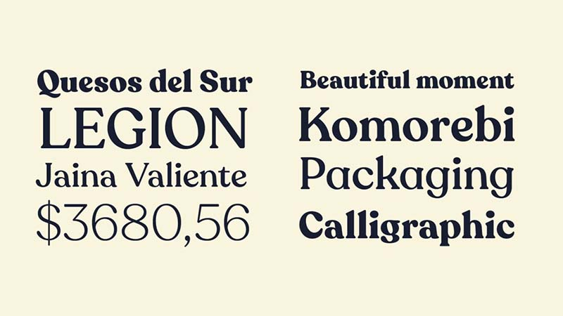 Recoleta Font Family Download