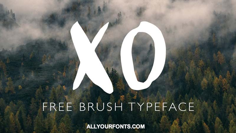 Xo Font Family Free Download