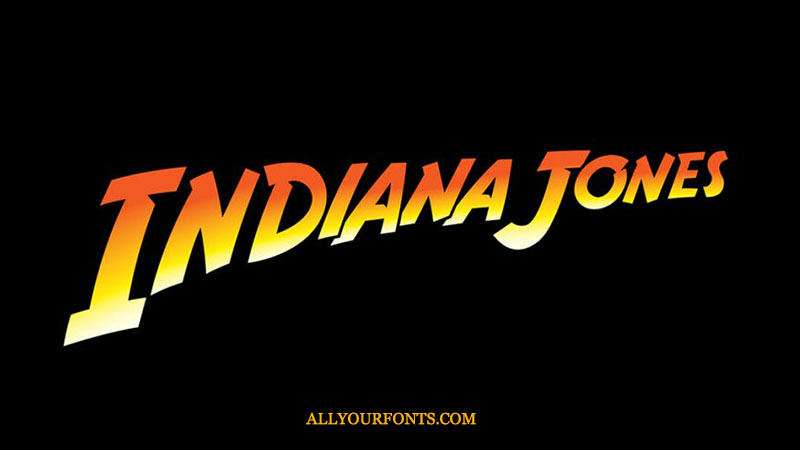 Indiana Jones Font Download