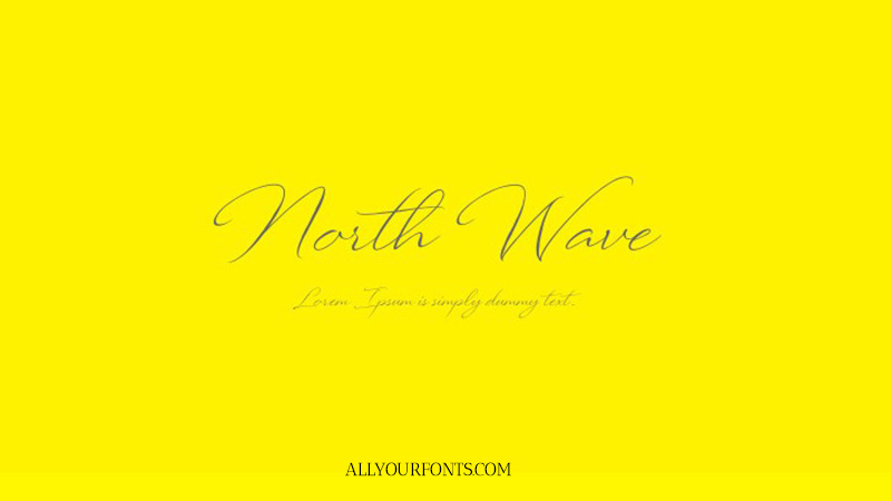 North Wave Font Family Free Download
