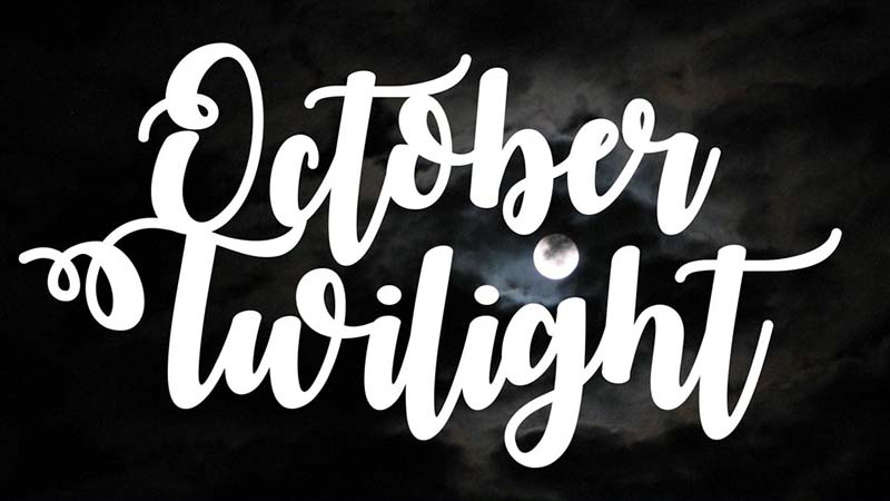 October Twilight Font Family Free Download