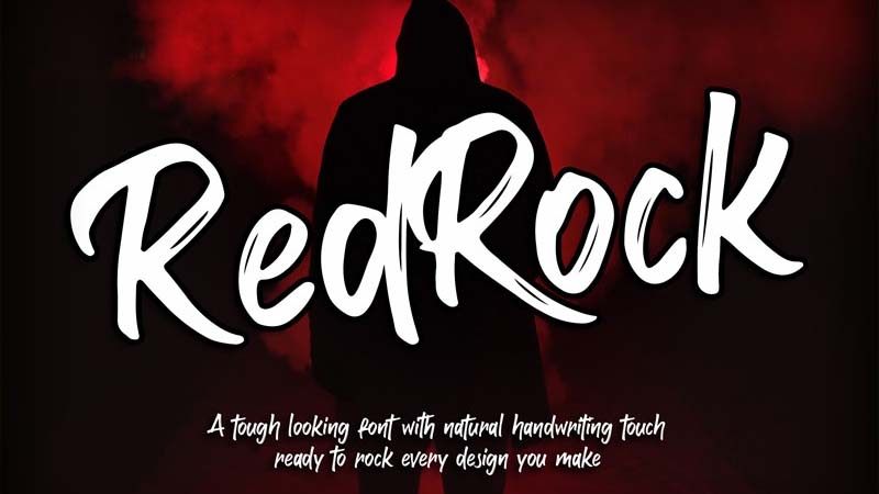 Red Rock Font Family Free Download