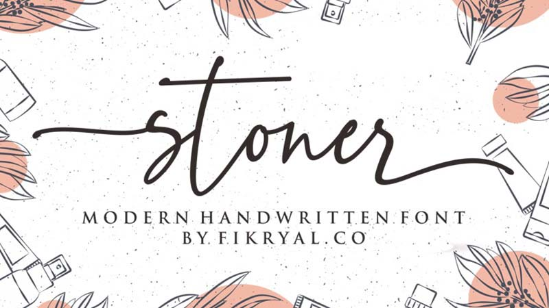 Stoner Font Family Free Download